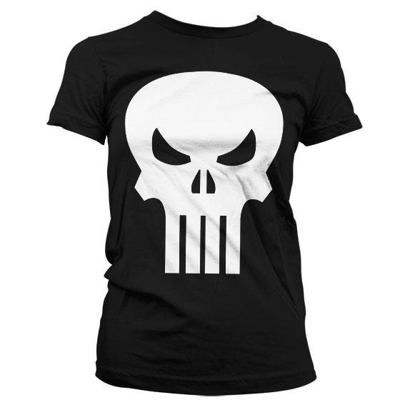 The punisher t shirt girl
