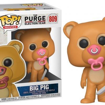 The purge bobble head pop n 809 big pig