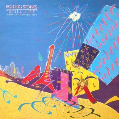 The rolling stones still life american concert 1981 album 33t