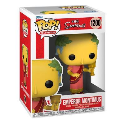 The simpsons bobble head pop n 1200 emperor montimus
