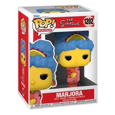 The simpsons bobble head pop n 1202 marjora marge