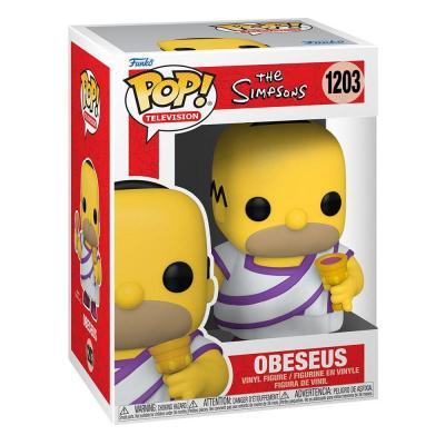 The simpsons bobble head pop n 1203 obeseus homer