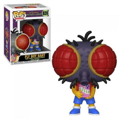 The simpsons bobble head pop n 820 fly boy bart