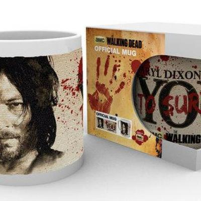 The walking dead mug 300 ml daryl needs you