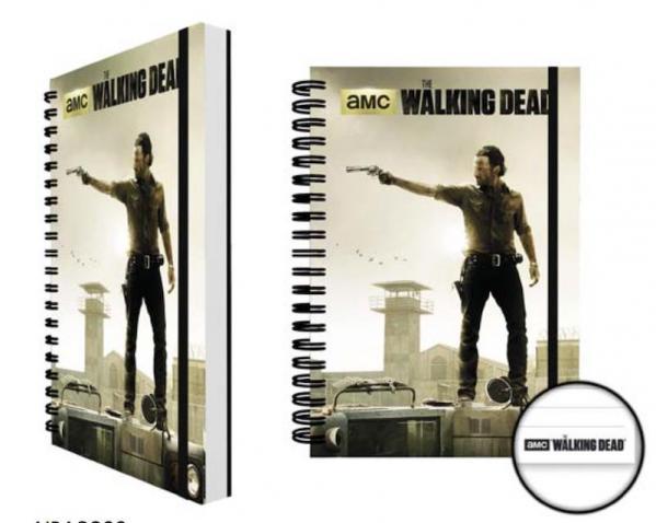 The walking dead notebook a5 prison