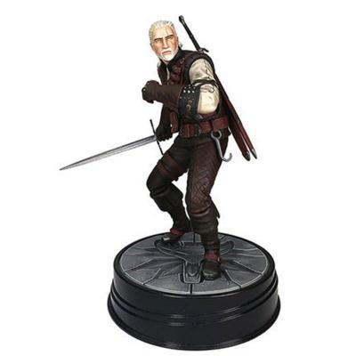 The witcher 3 geralt manticore figurine dark horse 14cm