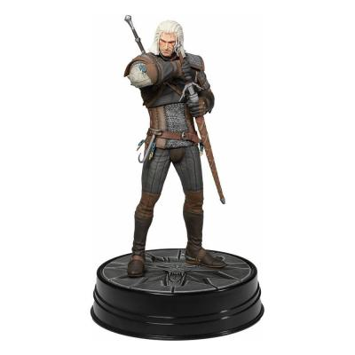 The witcher 3 the wild hunt heart of stone geralt statuette 24cm