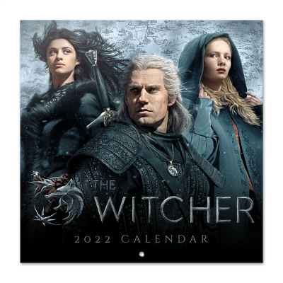 The witcher calendrier 2022 30x30cm