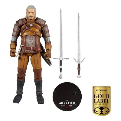 The witcher geralt wal mart exclusive figurine articulee 18cm