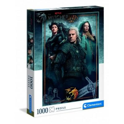The witcher puzzle 1000p