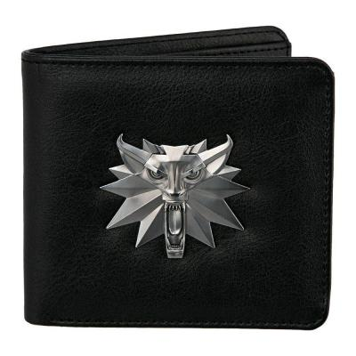 The witcher white wolf bi fold wallet