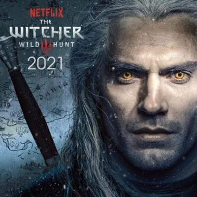 The witcher wild hunt calendrier 2021 30x30cm