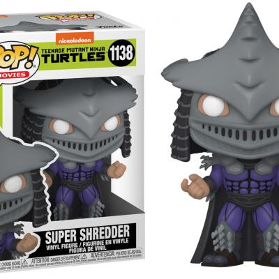 Tmnt 2 bobble head pop n 1138 super shredder
