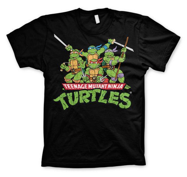 Tmnt group t shirt