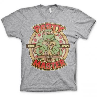 Tmnt party master since 1984 t shirt