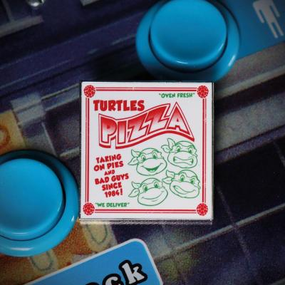 Tmnt pizza pin s edition limitee 9 5x1 5x14 5cm