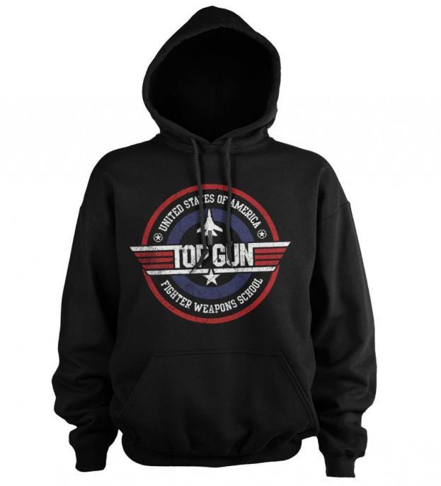 Top gun fighter weapons school sweat hoodie