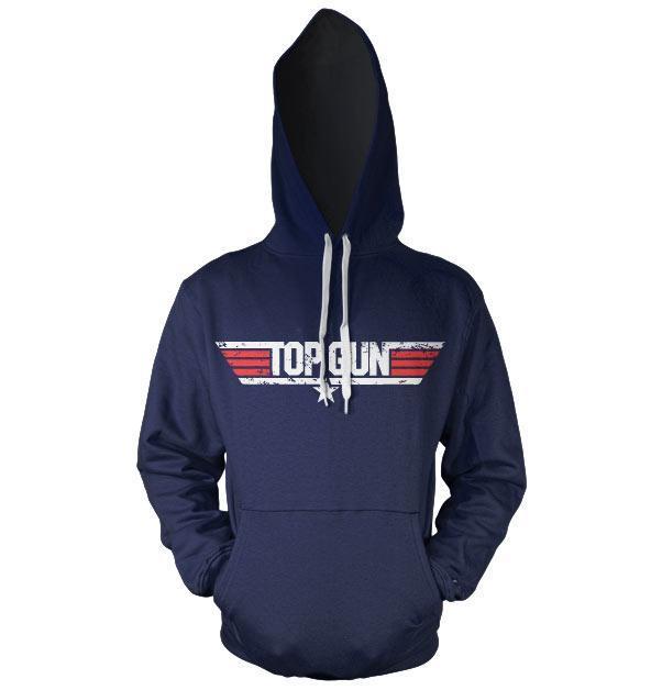 Top gun logo sweat hoodie