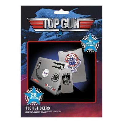 Top gun wingman tech stickers pack