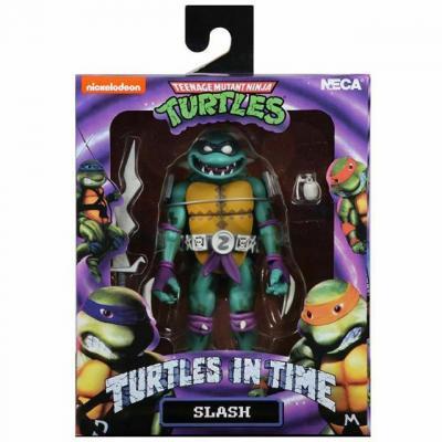 Tortues ninja slash figurine turtles in time 18cm 1