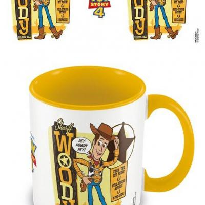 Toy story 4 sheriff woody mug interieur colore 315ml