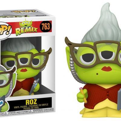 Toy story bobble head pop n 763 alien remix roz