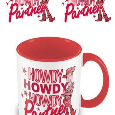Toy story howdy partner mug interieur colore 315ml