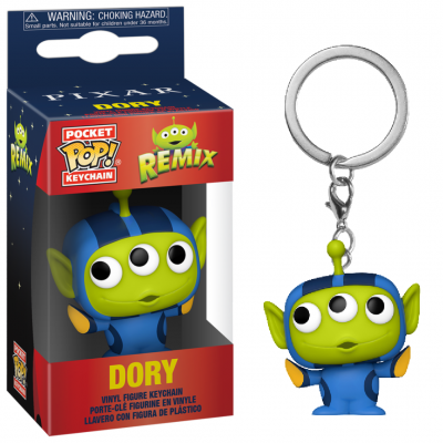 Toy story pocket pop keychain alien remix dory