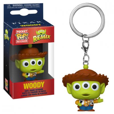 Toy story pocket pop keychain alien remix woody