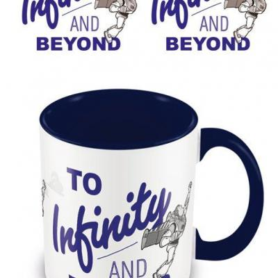 Toy story to infinity and beyond mug interieur colore 315ml