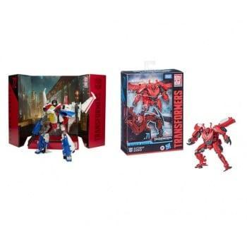 Transformers figurines studios series voyager assort x3