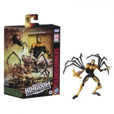 Transformers wfck deluxe black arachnia figurine hasbro 15cm