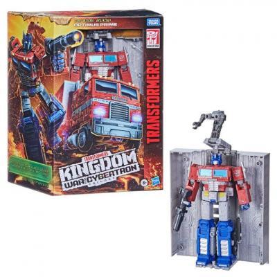 Transformers wfck leader optimus prime figurine hasbro 25cm