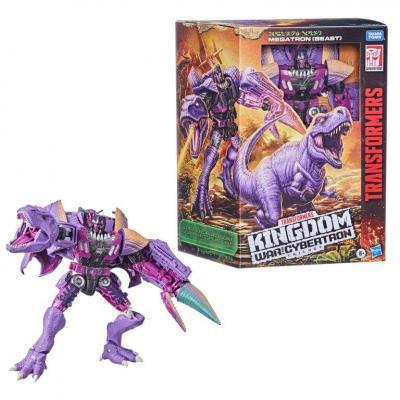 Transformers wfck leader trex megatron figurine hasbro 25cm
