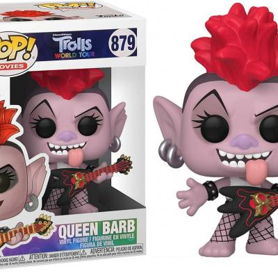 Trolls world tour bobble head pop n 879 queen barb