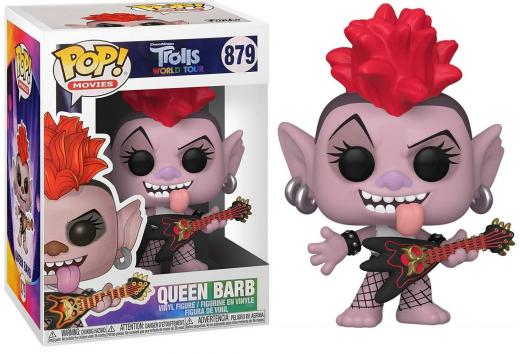 Trolls world tour bobble head pop n 879 queen barb