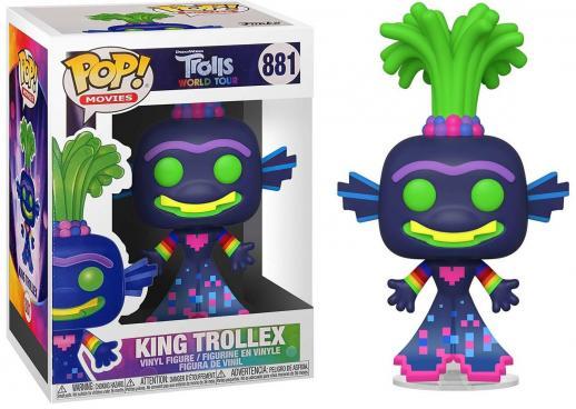 Trolls world tour bobble head pop n 881 king trollex