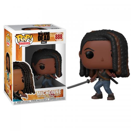 Tv bobble head pop n 888 the walking dead michonne
