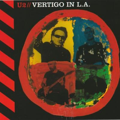 U2 album cd vertigo in l a