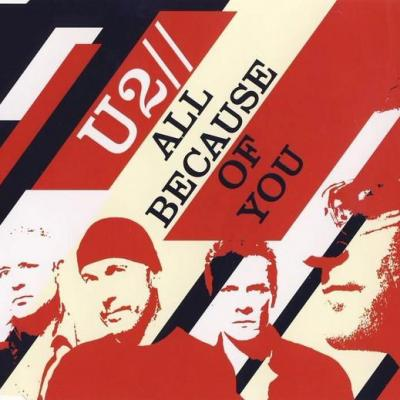 U2 maxi cd single all because of you