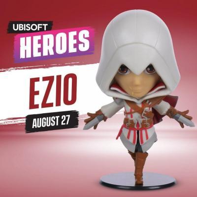 Ubi heroes chibi assassin s creed ezio figurine series 1