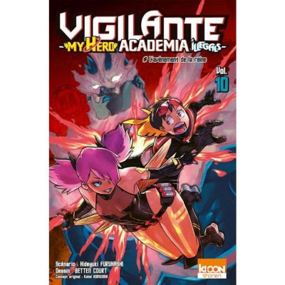 Vigilante my hero academia illegals tome 10