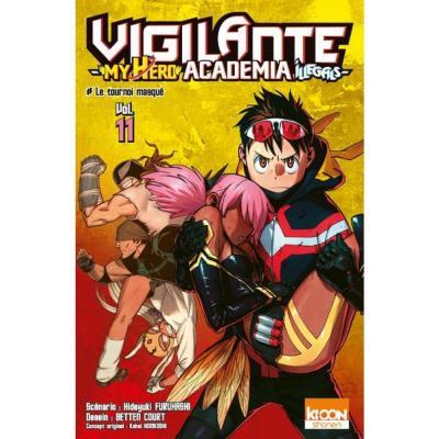 Vigilante my hero academia illegals tome 11