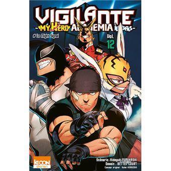 Vigilante my hero academia illegals tome 12