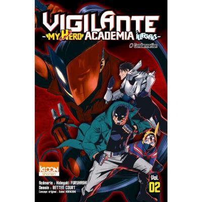 Vigilante my hero academia illegals tome 2