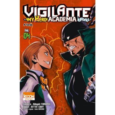 Vigilante my hero academia illegals tome 4