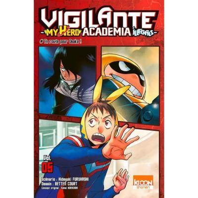 Vigilante my hero academia illegals tome 5