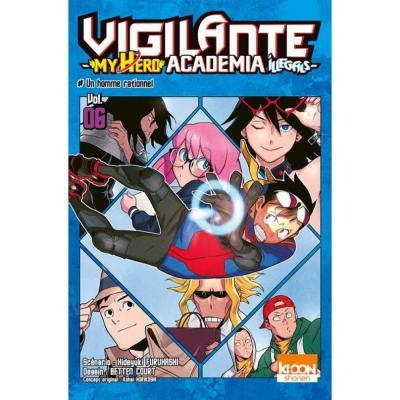 Vigilante my hero academia illegals tome 6