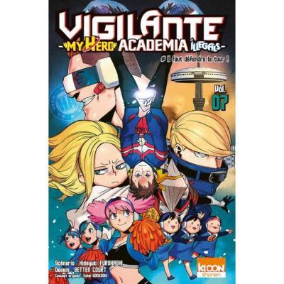 Vigilante my hero academia illegals tome 7