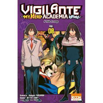 Vigilante my hero academia illegals tome 8